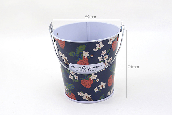 LANGUO storaging tin boxes with flower in hot selling Model:LGDW-2750