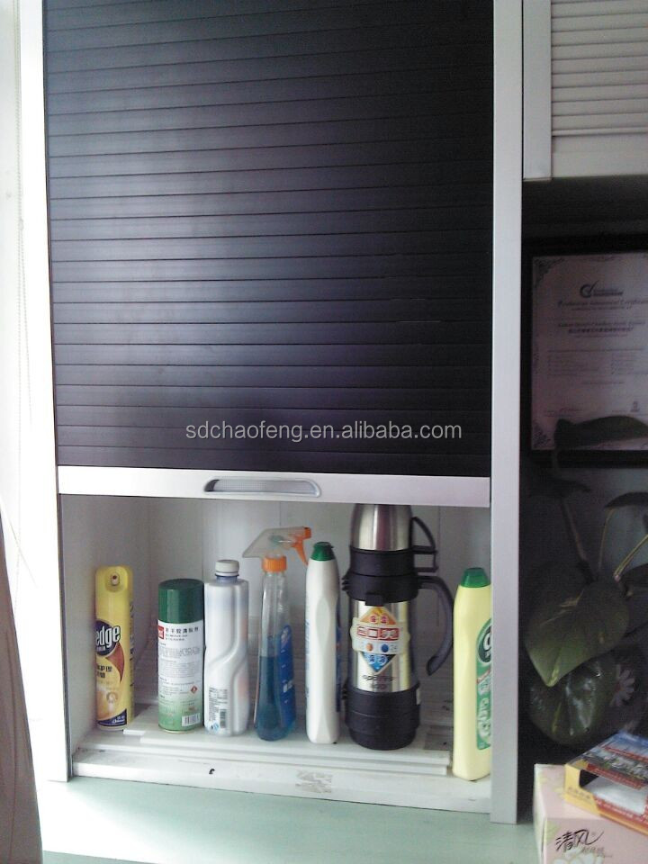 high quality kitchen cabinet with roller shutter door for. Black Bedroom Furniture Sets. Home Design Ideas