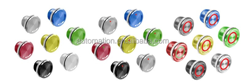 Metal pushbutton switch PX-11 Piezo-electric Switches anti-vandal pushbutton Switch