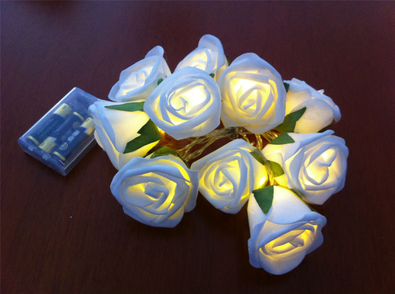 Christmas LED Roses Lighting Super Choice For Home Decoration