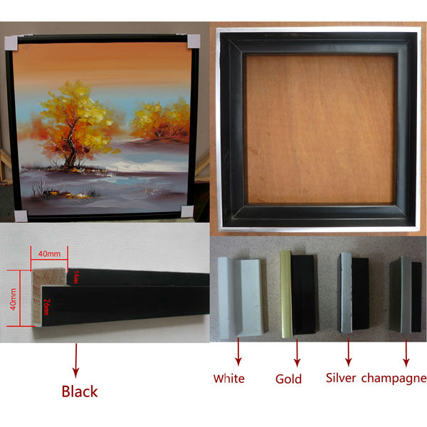 Hot selling canvas picture frame wall art for living room