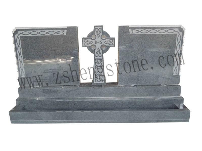 Antique Finish Celtic Cross Granite Headstones Ireland