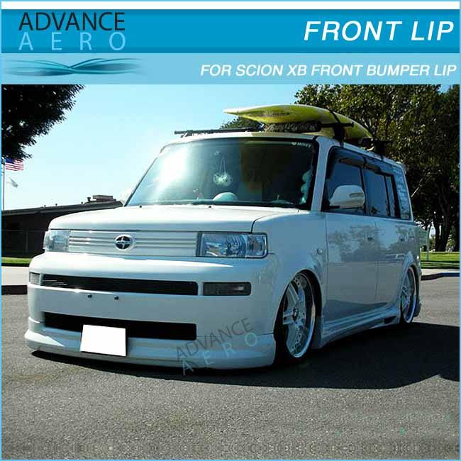 For 03 07 scion xb wagon 5dr pu k style front bumper lip spoiler body kits buy for scion body