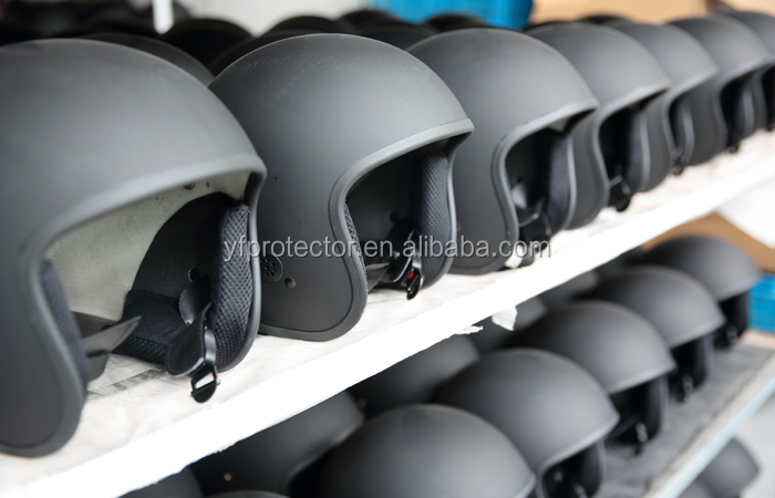 ANTI RIOT HELMET WITH VISOR