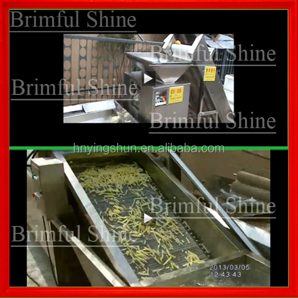 small scale potato production line/potato chips production line