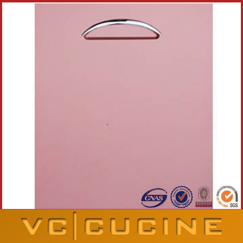 Pink lacquer slab Kitchen Cabinet Door