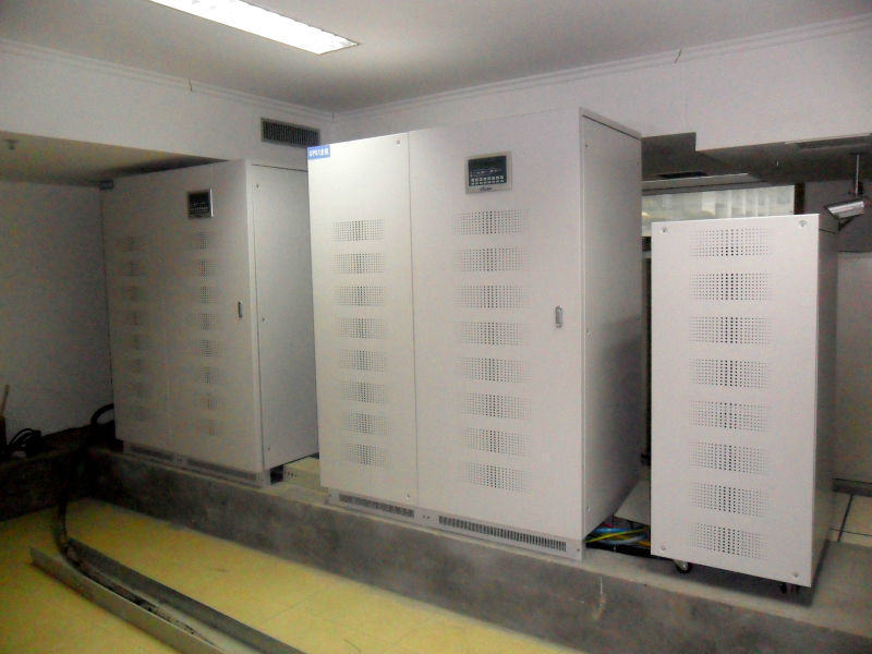 UPS Solutions Applied In Public Security Server Room (200KVA/160KW/200KVA UPS)