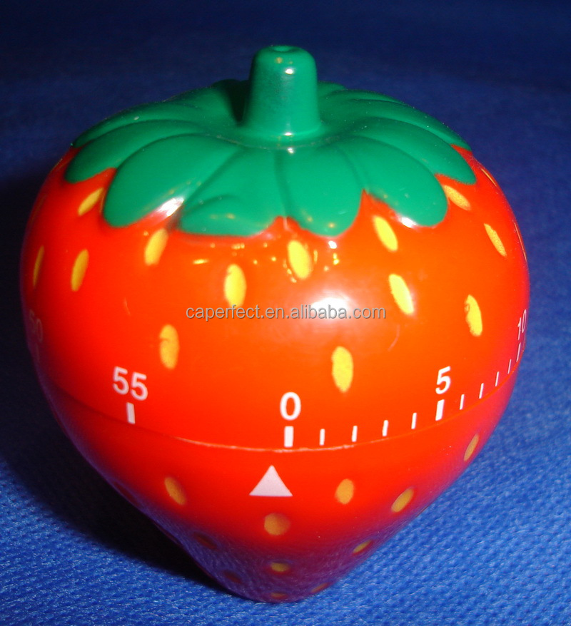 China supplier lemon shape kitchen mechanical timer