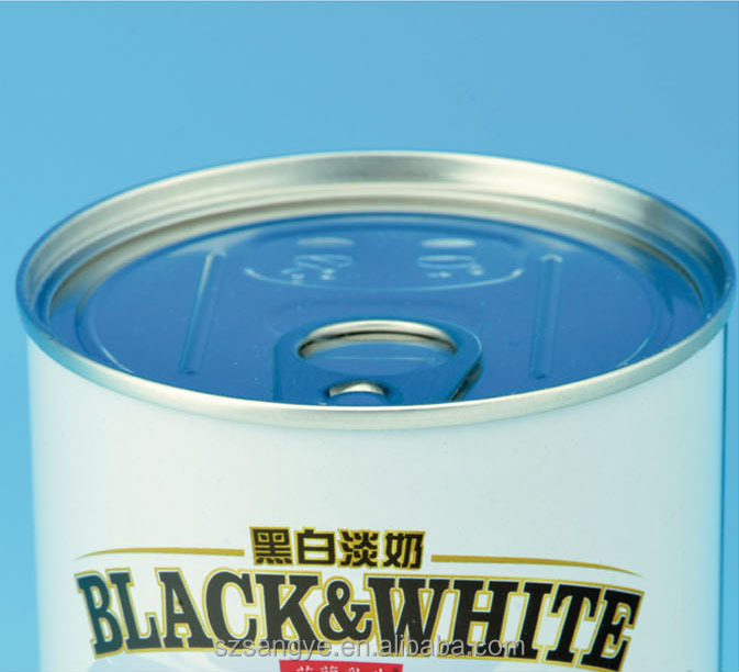 Round Metal Tin Can, Round Tin Can
