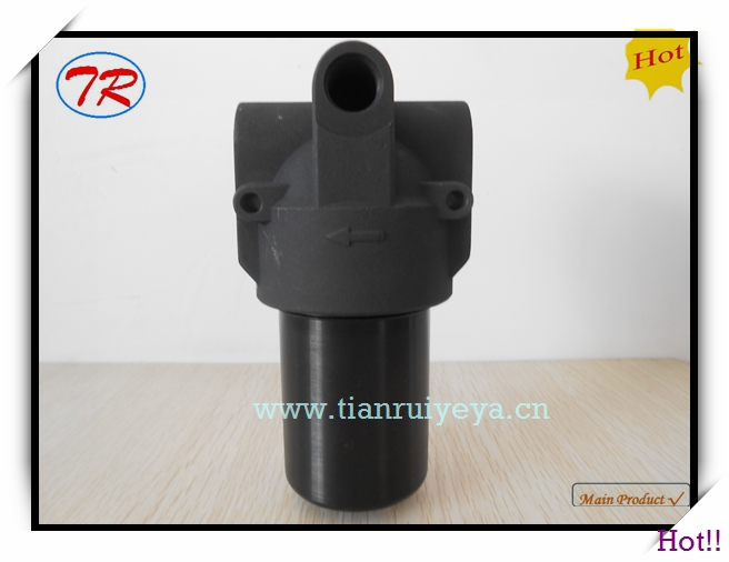 High pressure stainless steel hydraulic in line oil filter housing PHA060