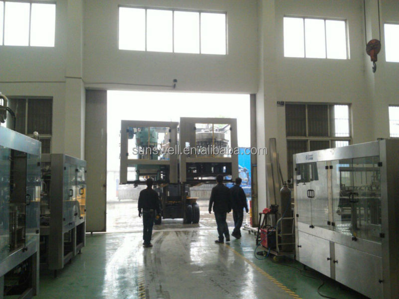 Complete Automatic Mineral Water Bottling Plant Drink Water Filling Line