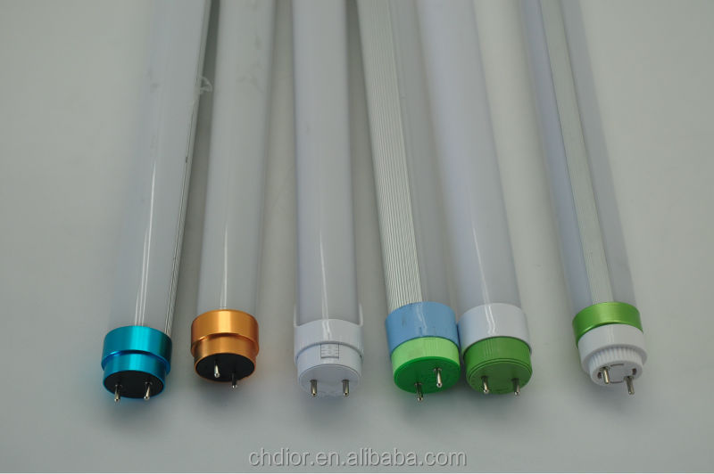 T8 led full PC tube shade and led tube light shell and led tube fitting with end caps