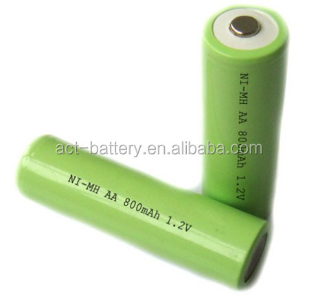 1 2v Aa Ni Mh 800mah Nimh Rechargeable Batteries View Aa