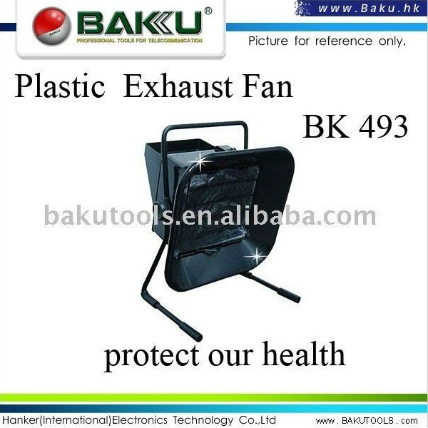 Hot sale ventilation exhaust fan used for soldering (BK-493)