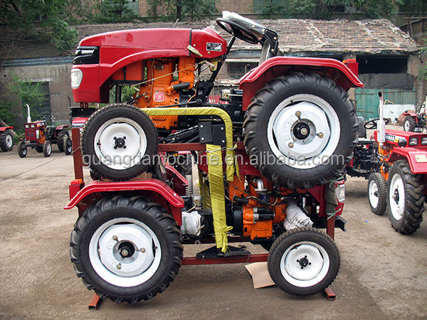 12-35hp mini tractor price with backhoe
