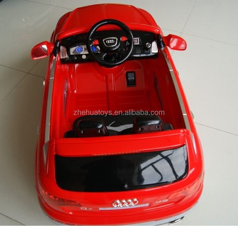 Hot Sale Authorized 12v Electric Toy Cars Ride On Audi Q7 ...