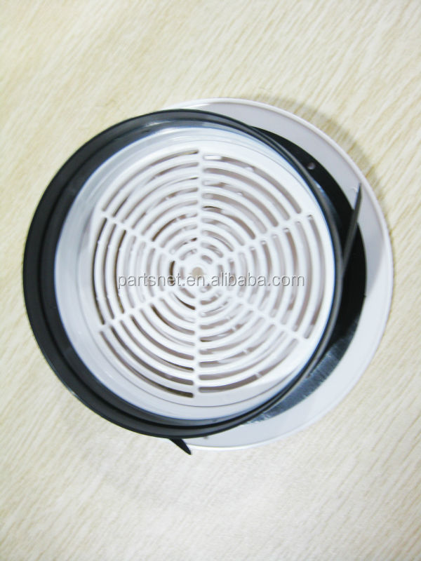 Abs round ceiling adjustable diffuser with connector buy for Decorative diffuser
