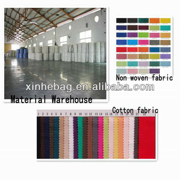 vest shape folding 210d polyester bag