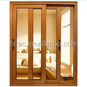 Latest design aluminum glass sliding windows and doors with factory price