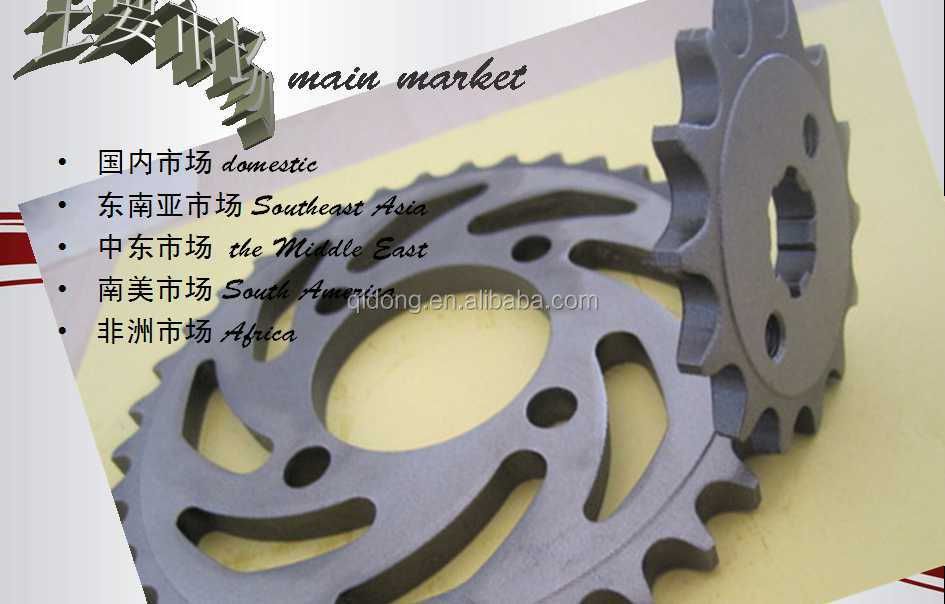 1045# high quality bajaj pulsar motorcycle sprocket