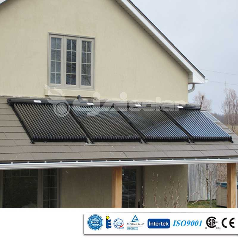SRCC CE SOLAR KEYMARK CSA Heat pipes solar thermal collector