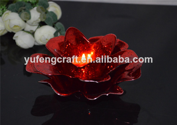 new colored lotus votive tealight candle holder