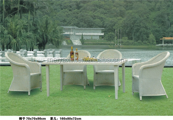Outdoor Furniture Rattan Wicker Chair With Table World Source International P