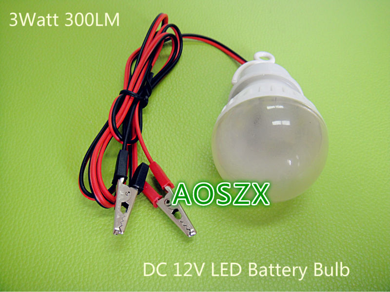 Wholesale DC 12V Battery LED light Bulb Emergency Lamp 12 Volt LED ...