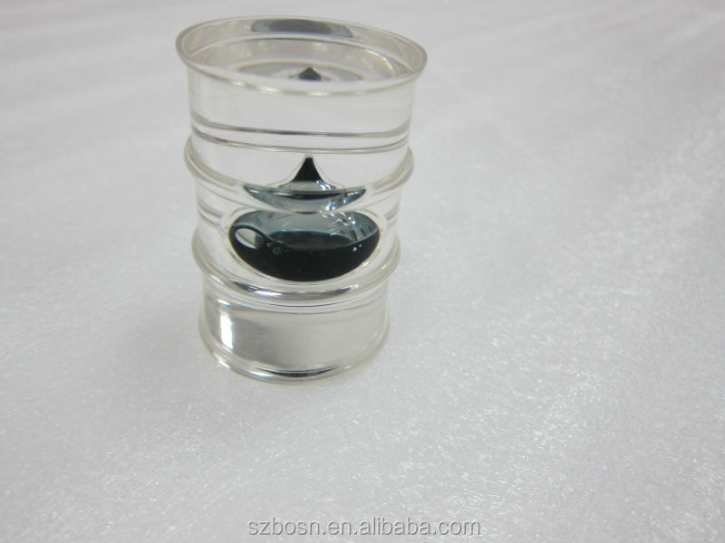 Barrel Shape Resin Oil Drop,Resin Oil Drop Paperweight, Resin Oil Barrel