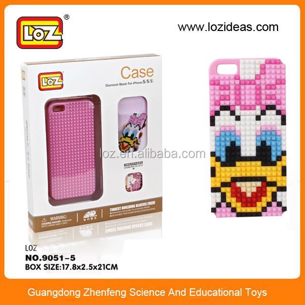 Cell phone case puzzle LOZ block case