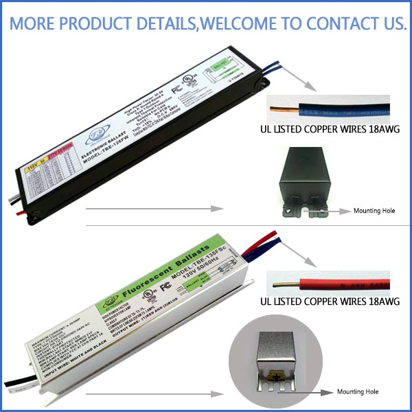 Good quality T12 100w fluorescent lamp ballast