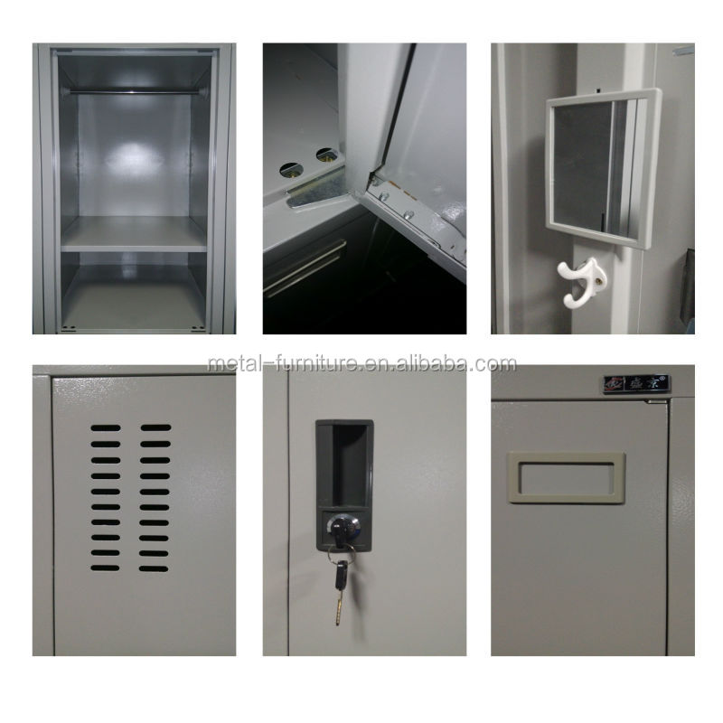 Factory price metal cheap GYM 2 4 6 door steel locker for sale