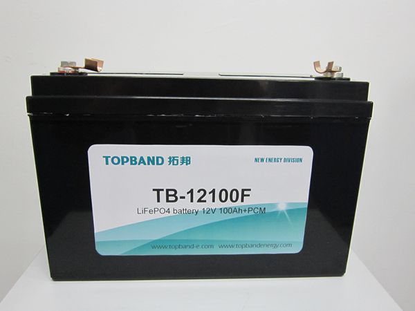 TOPBAND BATTERY Deep cycle LiFeO4 LFP battery 12V 100Ah