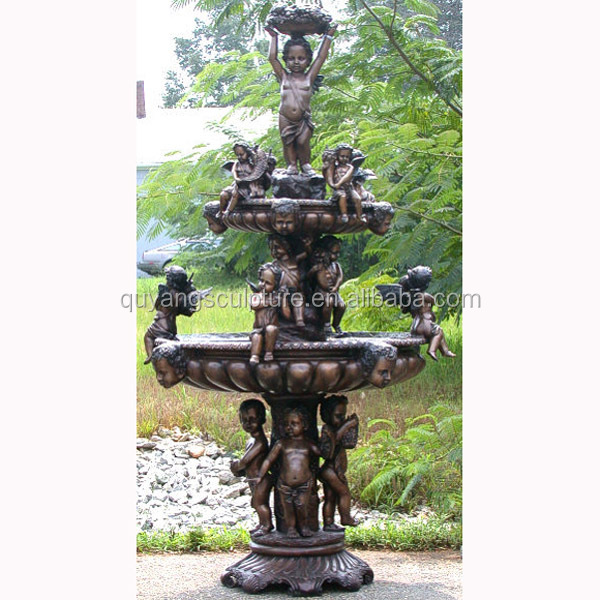 Large Outdoor Bronze Metal Fountains