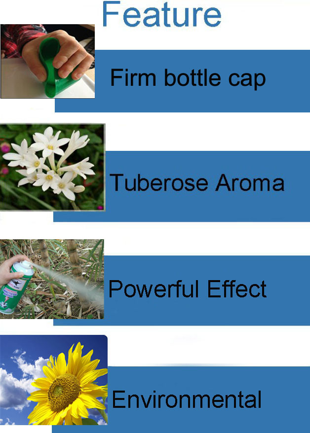oil based powerful effect perfume aerosol insecticide spray