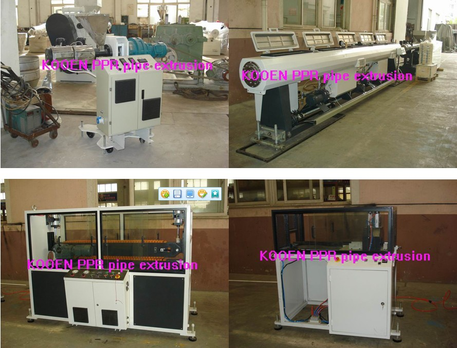 automatic pe rt pipe machine with good quality