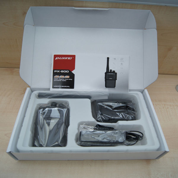 PX-820 PUXING DMR radio AMBE+2TM IP67 encryption