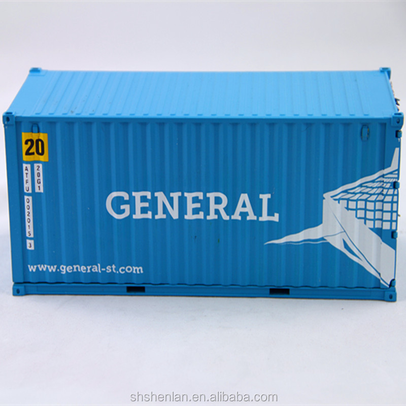 20 feet 1 30 zinc alloy container scale model view cargo for 30 foot shipping container
