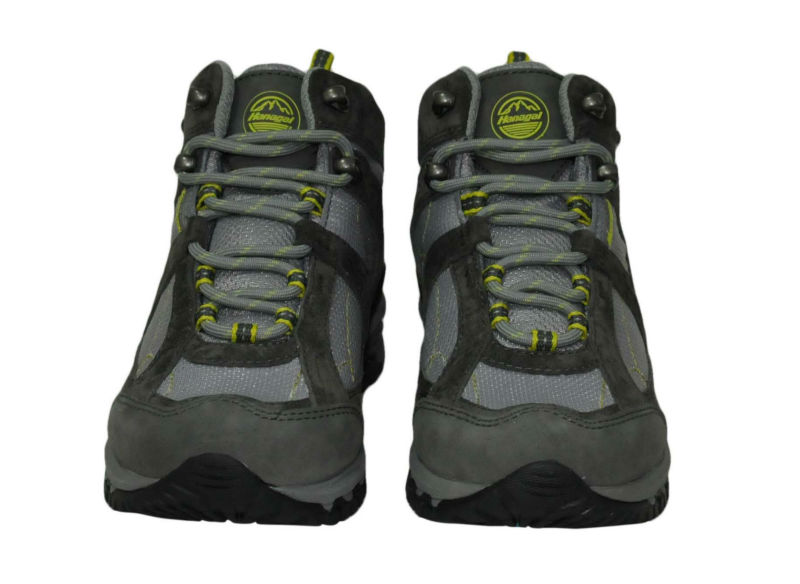 Genuine leather mens hiking shoes stock shoes trekking outdoor shoes men