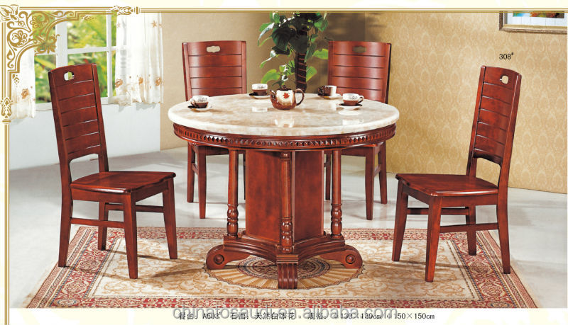 Best-selling Top marble dinning table set