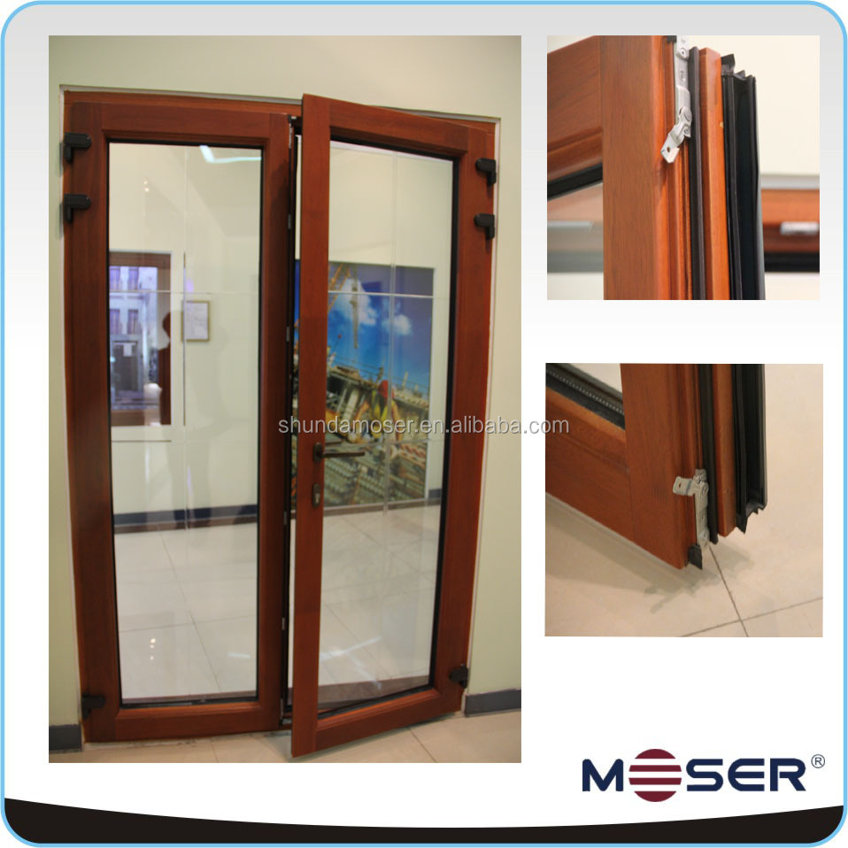 High quality exterior solid wood patio doors with energy for Quality patio doors