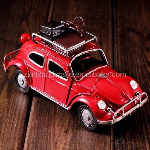 Antique mini old model car for cafe bar decorations