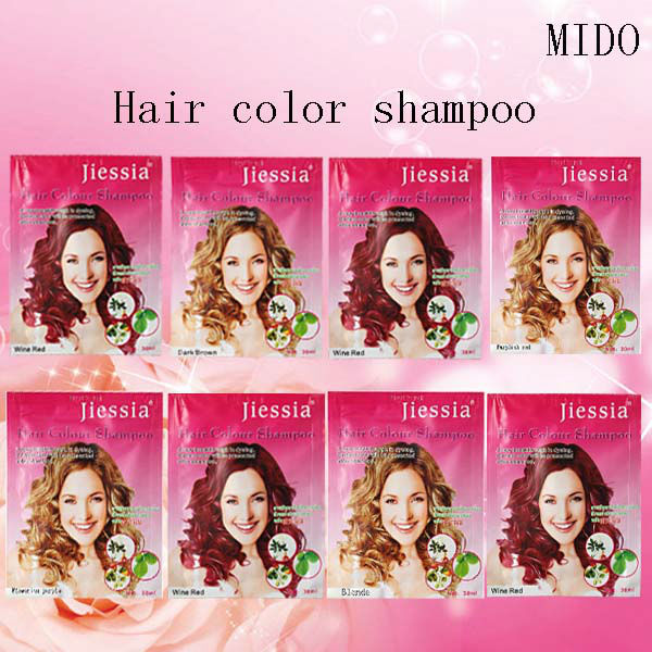 Hot Sale Herbal Hair Dye Color Shampoo View Hair Color Change Shampoo Jies