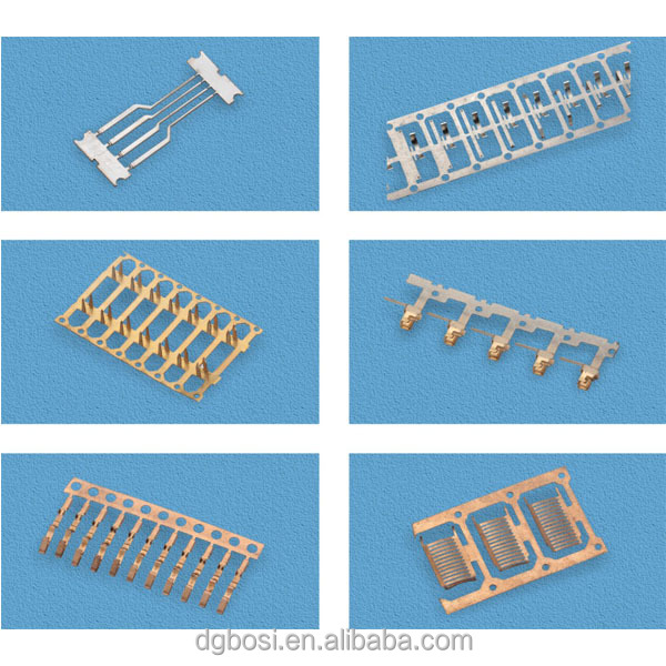 Brass barrier terminal for terminal block for PCB