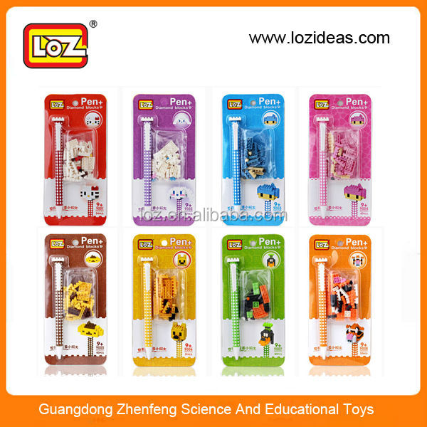 LOZ new design plastic stationery wholesale for kid