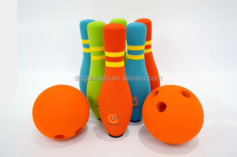 11'' bowling set toys, GaGaBang toys, sport toys, SOFT TOYS, Kids bowling sets