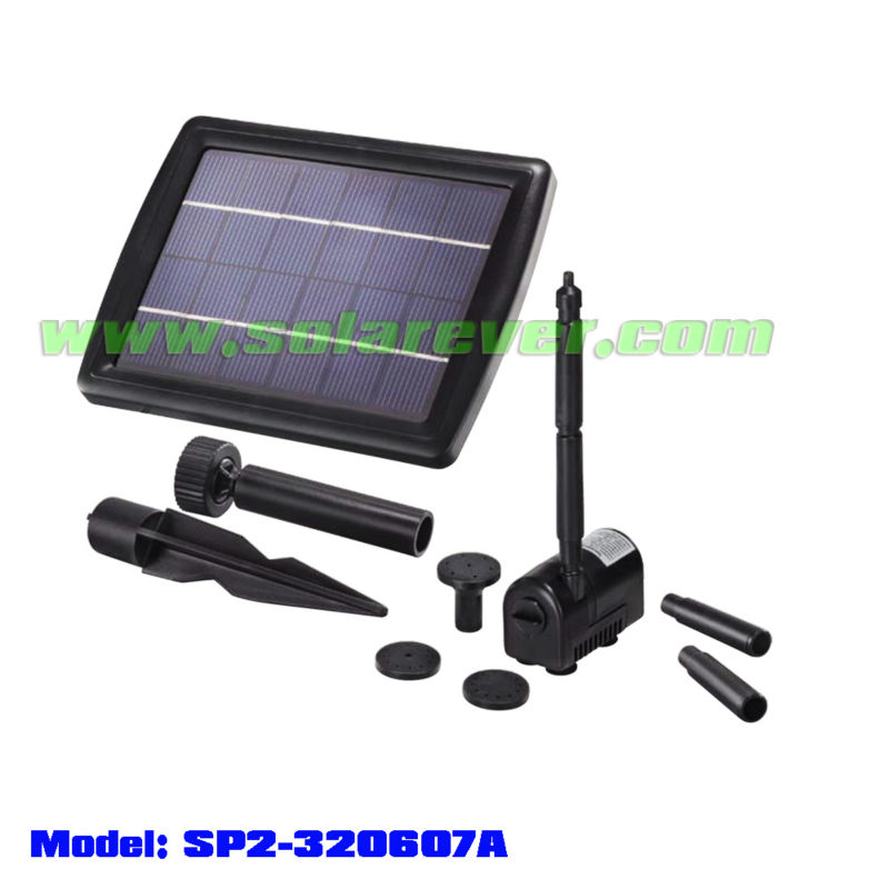 Solar Pump for fountain (SP2-320607A)