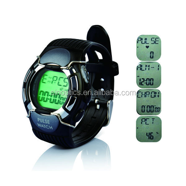 Fashion Wireless smart pulse Heart rate test Monitor Sport watch calorie counter monitor watch XLJK008
