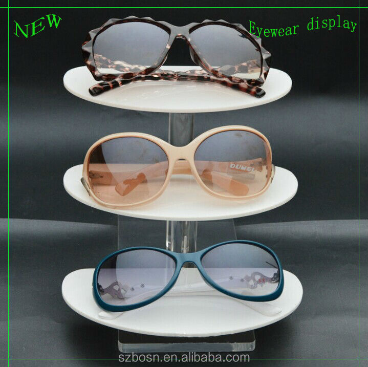 Newly design good quality acrylic reading glasses display stands with glasses displayl stand for sale