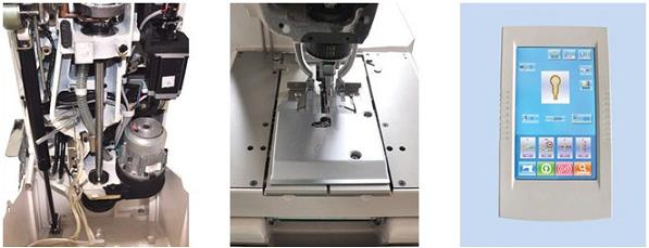 AS9820 Eyelet electrical button holing machine